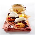 Cherry Scones / Cream Tea