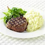Fillet Steak and Mashed Potato