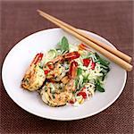 Thai Prawns and Salad