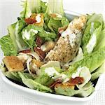 Bowl of chicken Caesar salad