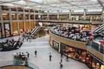 Landmark shopping mall, Central, Hong Kong, China