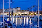 Italy, Liguria, Genoa (Genova), Port Vecchio marina