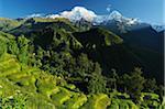 Annapurna South and Hiunchuli, Ghandruk, Gandaki Zone, Nepal