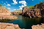 Australia, Northern Territory, Katherine.  Nitmiluk (Katherine Gorge) National Park.