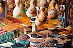 Chine, fruits secs de la Province de Xinjiang, Kashgar, stand, marché du dimanche