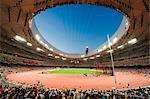 China, Peking, The Birds Nest Olympiastadion von Herzog & de Meuron