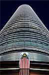 Malaisie, Negeri Sembilan, Kuala Lumpur, Kampong Baharu, le Bureau des tours Petronas. Architecte Cesar Pelli