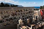 Cimetière de la Province de Trapani, Sicile, Italie