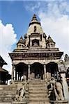 Temple at Durbar Square, Bhaktapur, Bagmati Zone, Madhyamanchal, Nepal