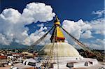 Stupa at Boudhanath, Bagmati Zone, Madhyamanchal, Nepal