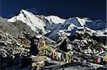 Cho Oyu, View from Gokyo Ri, Sagarmatha National Park, Solukhumbu District, Sagarmatha Zone, Nepal