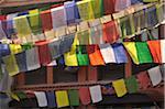 Prayer Flags, Boudhanath, Kathmandu, Bagmati, Madhyamanchal, Nepal