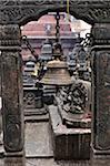 Bell, Swayambhunath, Kathmandu, Bagmati, Madhyamanchal, Nepal
