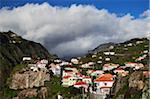 Storm Clouds over Ribeira Brava, Madeira, Portugal