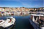 Quai des bateaux, Cassis, Bouches-du-Rhône Bouches-du-Rhone-Alpes-Côte d'Azur, France