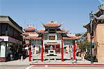 Chinatown, Downtown LA, Los Angeles County, Kalifornien, USA