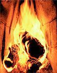 Un feu brûlant.