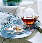 Eine entspannende Tasse Tee.