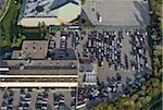 Parking Lot, Toronto, Ontario, Canada
