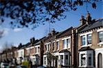 Maisons rue de victorien semi détaché, Wandsworth, Londres. Architectes : Luis Fernandez de Treviño