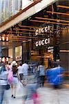 Gucci magasin phare dans le Centre de Paragon sur Orchard Road. Architectes : Architectes DP et Frida Giannini.
