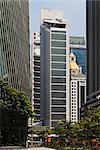 Le Singapore Exchange Centre, construit en 2000 et 2001. Architectes : Kohn Pedersen Fox Associates et architectes 61
