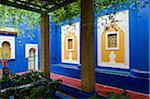 Pergola at Jardin Majorelle, Marrakech, Morocco