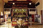 Intérieur du Temple de Khoo Kongsi, Georgetown, Penang, Malaisie