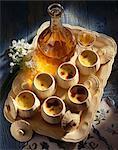 Cognac-Creme dessert