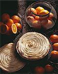 Tarte de meringue orange