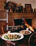 Boeuf à la ficelle, Navarin printanier et veau blanquette