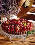 Tarte de fruits été