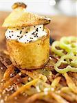 pomme de terre au four avec crème