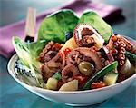 Salade de poulpe