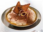 Tiramisu avec pain d'épice et Banyuls