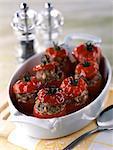 Stuffed tomatoes with pinenuts