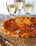 Apricot Tatin tart