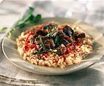 Agneau et sauge risotto