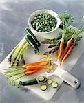 Peler les légumes