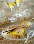 Foie gras with vanilla