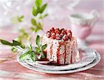 Charlotte aux fraises sauvage