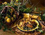 Poulet aux olives noires et de citronniers