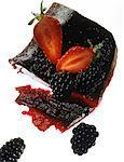 Gelée de fraise et de blackberry