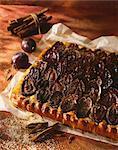 Quetsch prune tarte