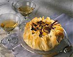 Gâteau de pâte filo fruits secs