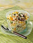 Exotic rice salad