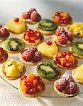 Sélection des tartelettes aux fruits