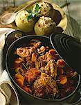 Ragoût de veau et de carottes