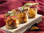Mussel salad Verrines