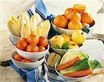 Légumes et fruits d'hiver